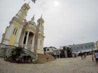 Ilhéus com a Catedral de São Sebastião e bar Vesúvio ao fundo FOTO: JEAN CHAD